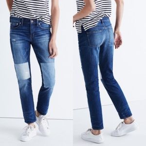 MADEWELL x B Sides Patchwork Slim Boy Jean